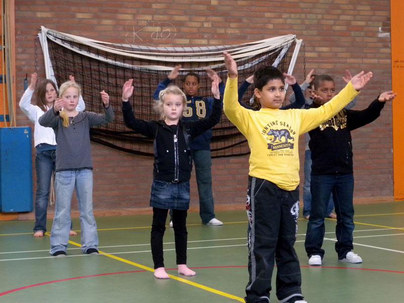 trainingen voor kinderen bv op scholen