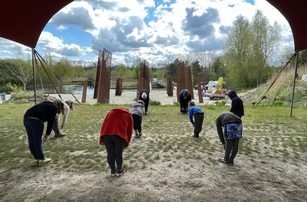 Het eerste weekend workshops op Kallumaan zit erop