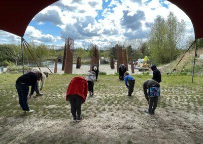 Kids Tai Chi Qidynamic op camping Kallumaan