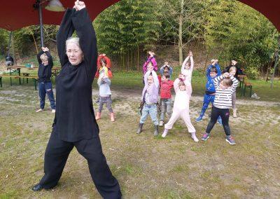 Kids Kung Fu Qidynamic op camping Kallumaan